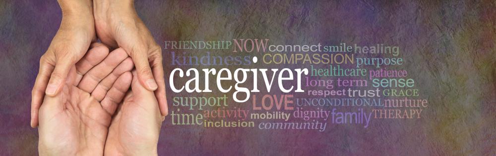 caregiver walking patient