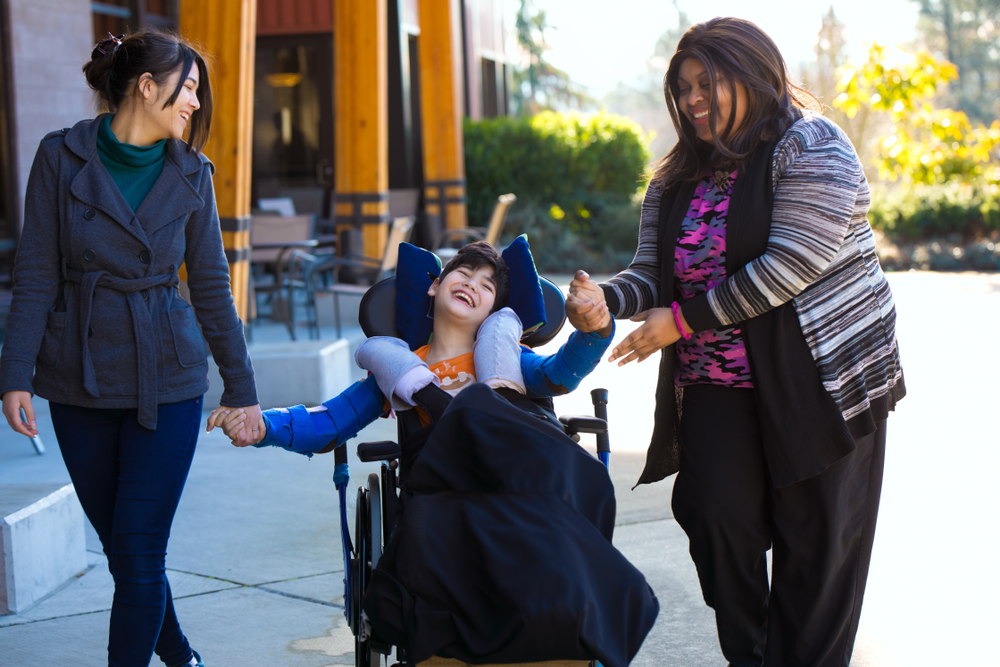caregivers with disabled child