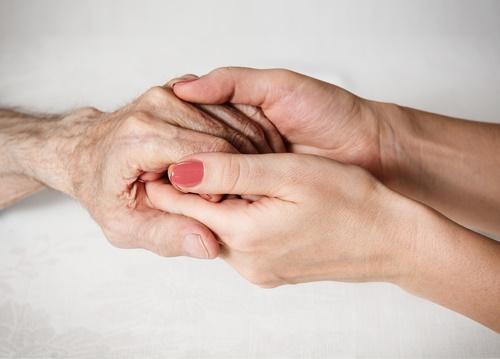 caretaker-patient-hands