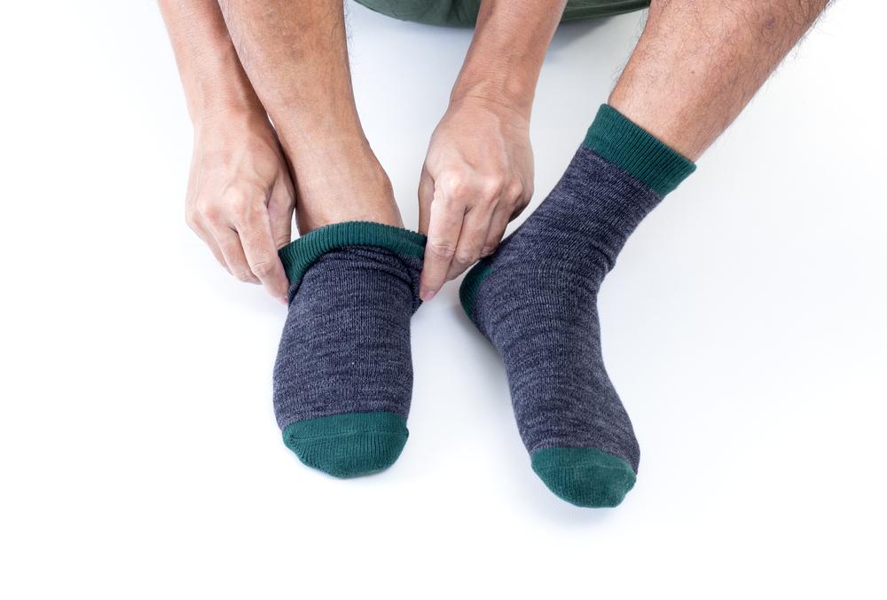 clean socks