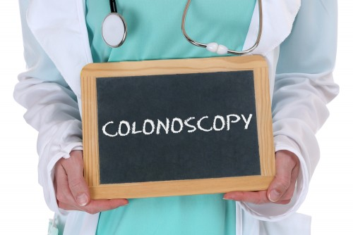 colonoscopy sign