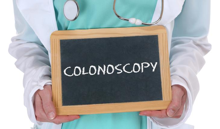 colonoscopy sign