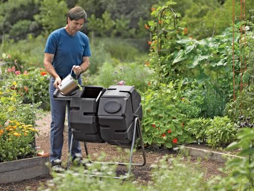 compost tumbler_photo credit Gardeners Supply Company