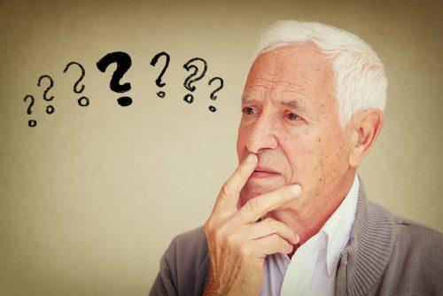 confusion elderly