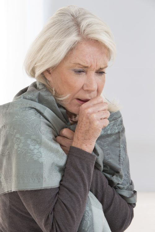 coughing-woman