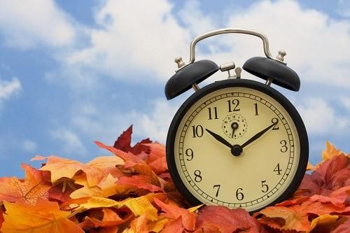 daylight savings time autumn