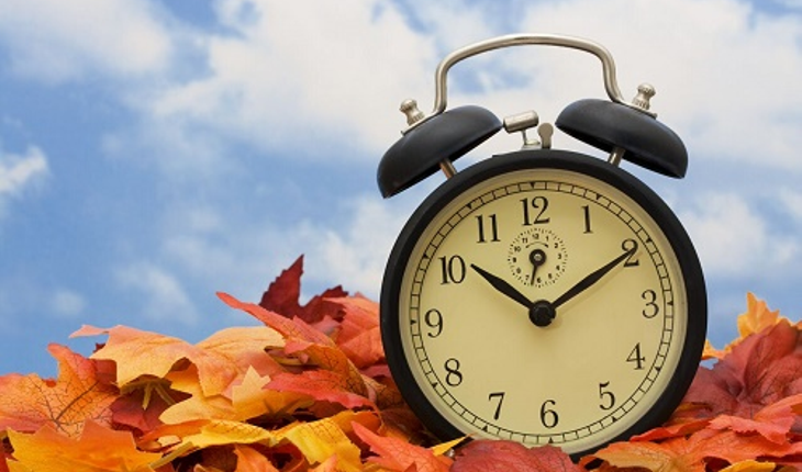 daylight savings time autumn