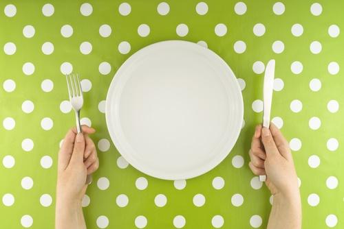 diet empty plate