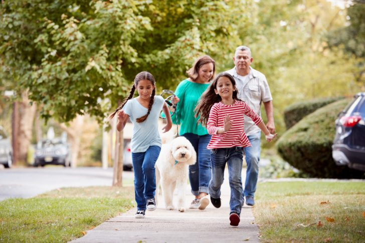 family-exercising