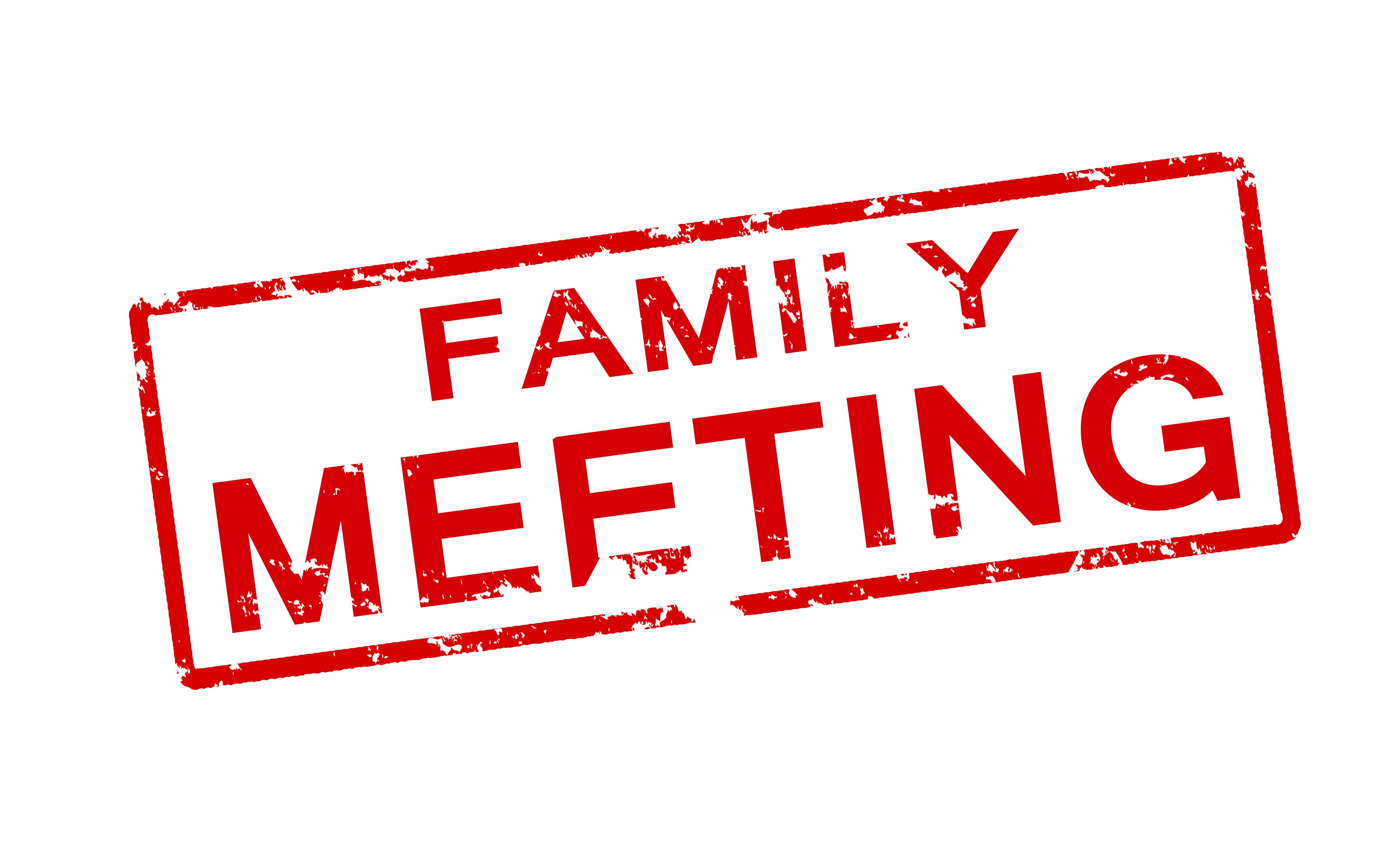 family meetings