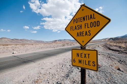 flash flood sign