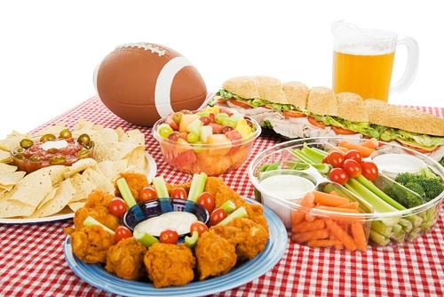 football buffet