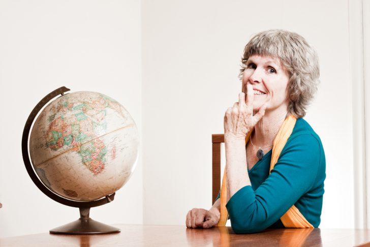 globe-and-woman