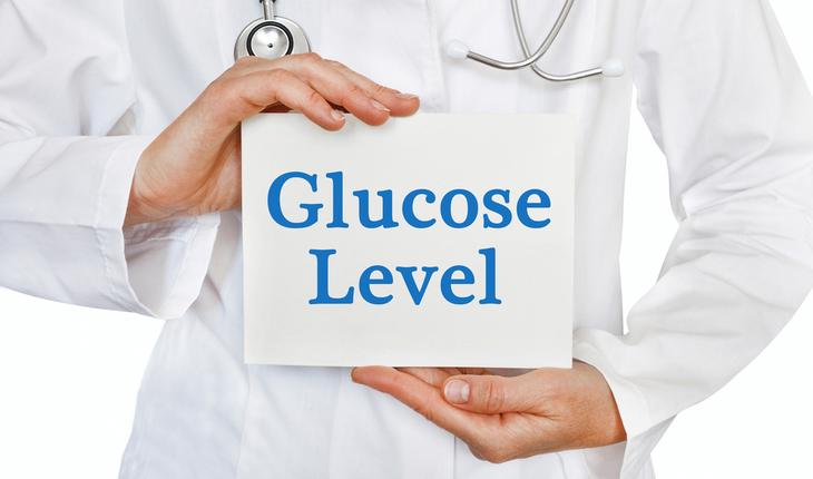 glucose level sign