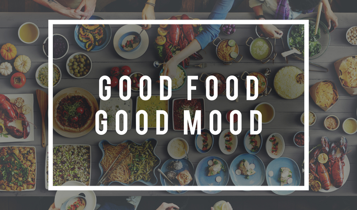 good food, good mood