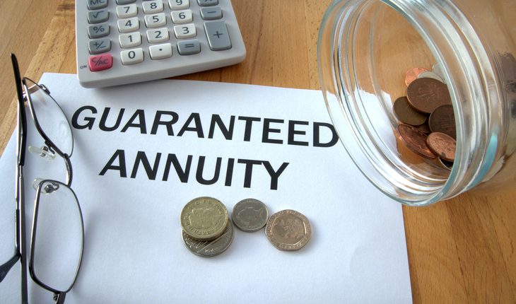 guaranteed annuity