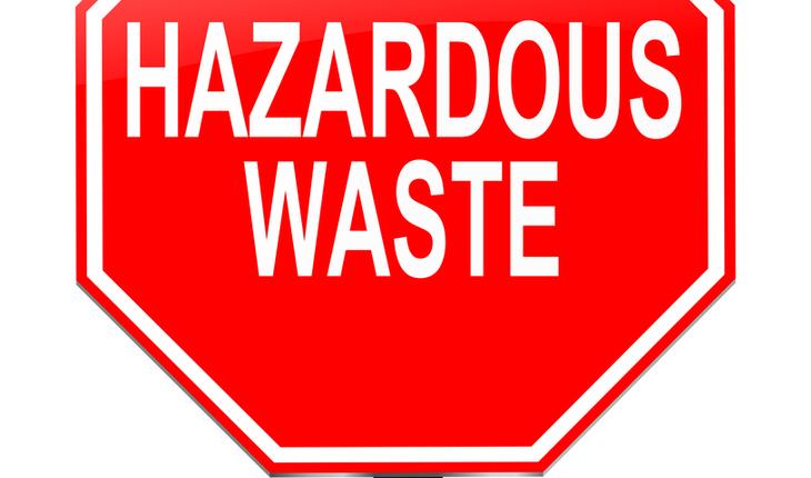 hazardous waste sign