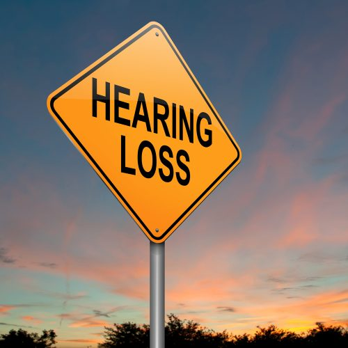 hearing loss warning sign