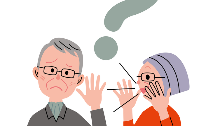 hearing loss cartoon
