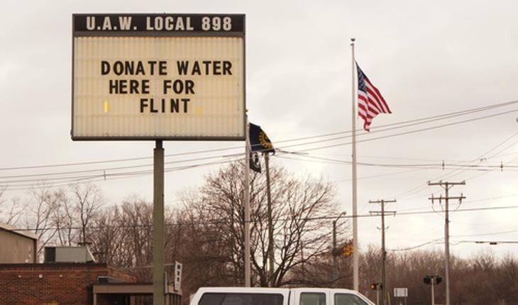 lead poisoning sign Flint