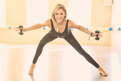 Fitness instructor Liz Hilliard