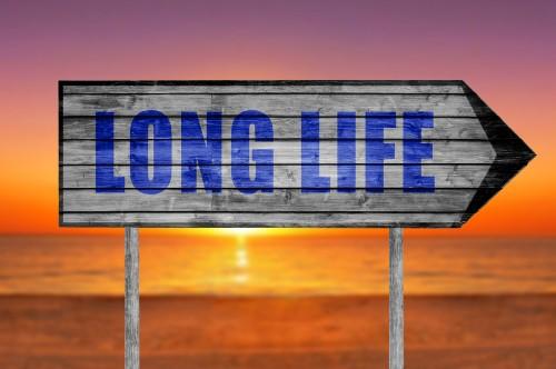 long life sign