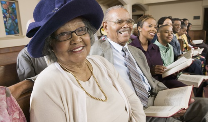 mature-African-American-woman-church