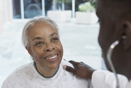 mature african american woman doctor