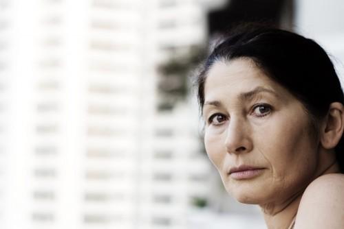 mature asian woman depression