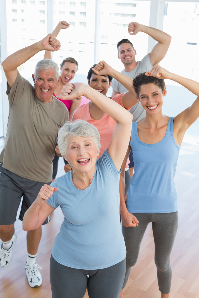 mature people power fitness