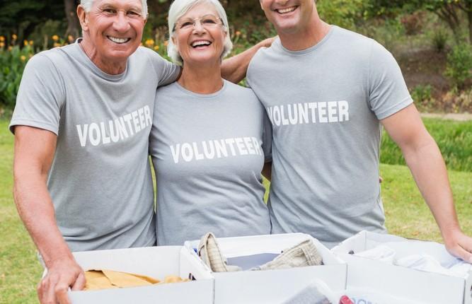 mature volunteers