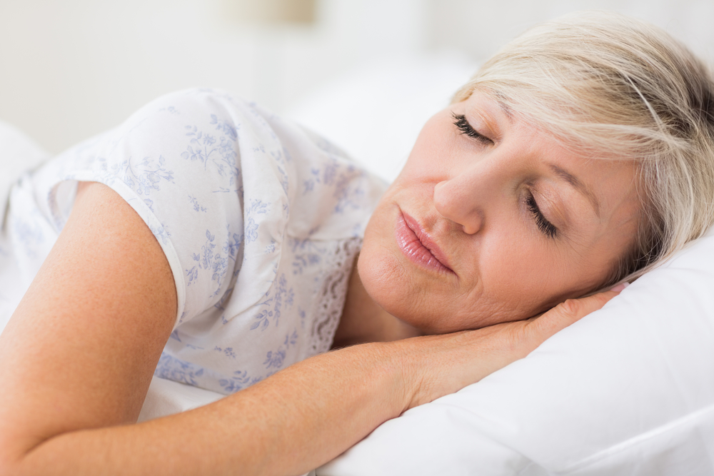 mature-woman-sleeping