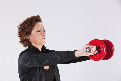 mature woman strength training