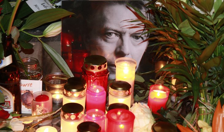 mourning David Bowie