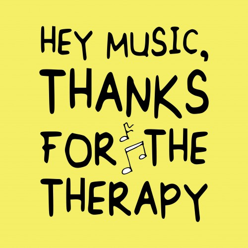 music therapy thanks sign