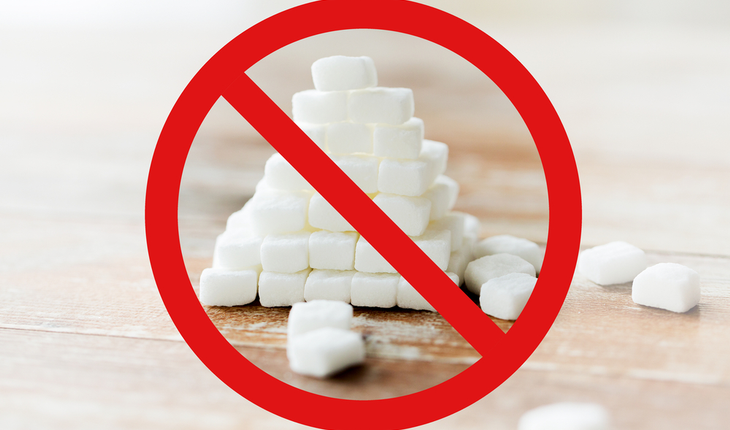 Avoid sugar Sign