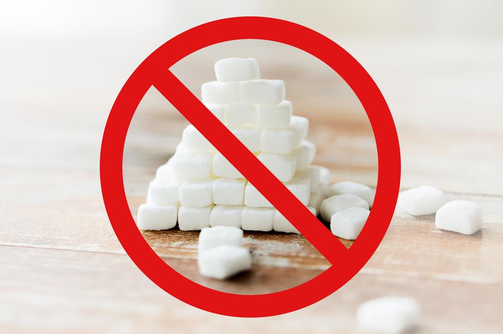 Avoid sugar Sign