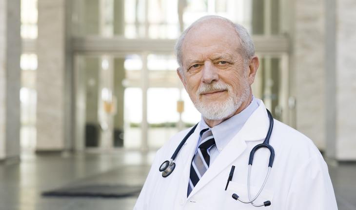 older doctor