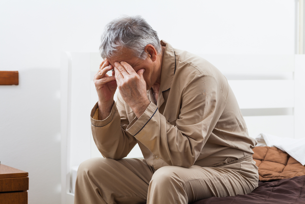 older man insomnia