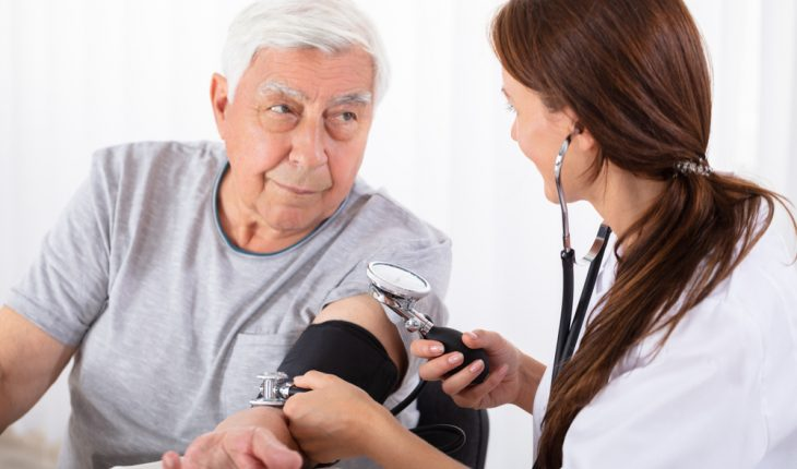 older person blood pressure