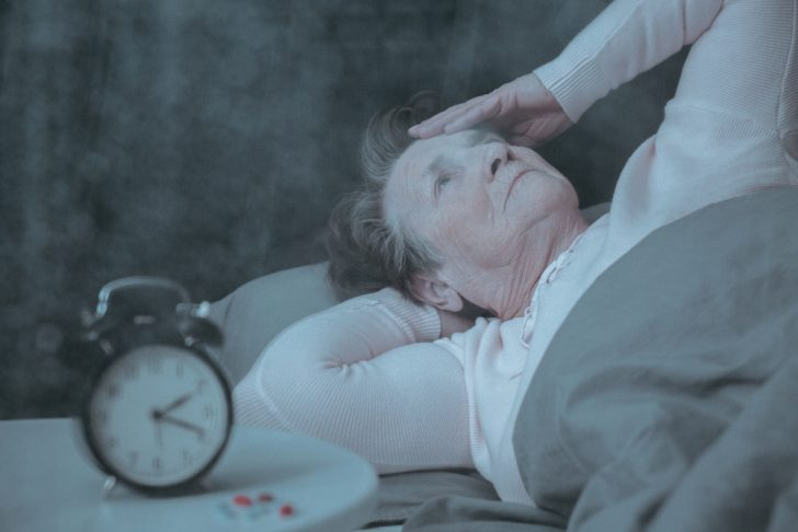 older woman insomnia