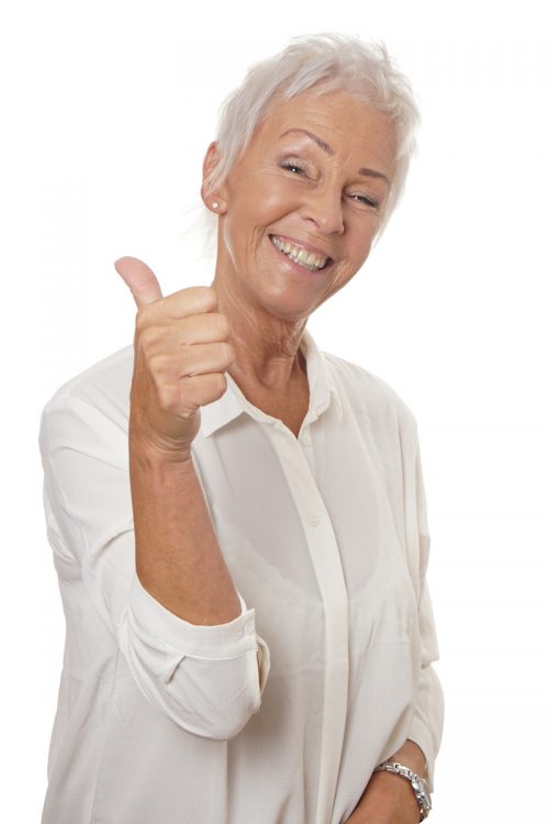 older-woman-thumbs-up