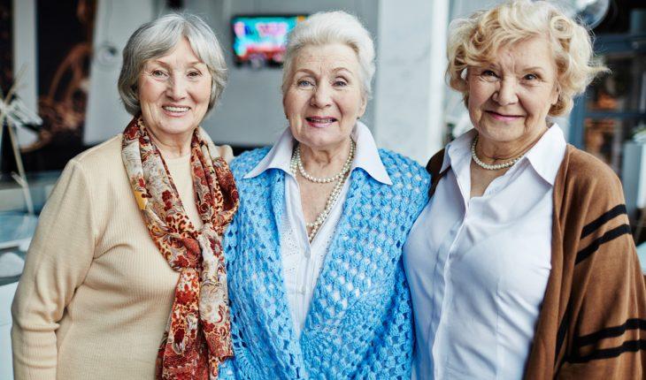 older women friends