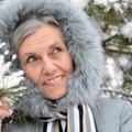 olderwoman in winter