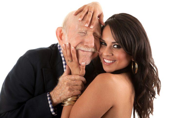 oldman, young woman