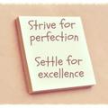 perfection saying