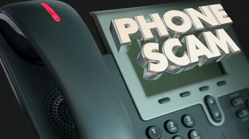 phone scam, robocall