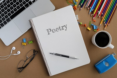 creative writing book - poetry