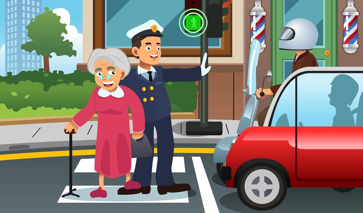 police-helping-senor-woman
