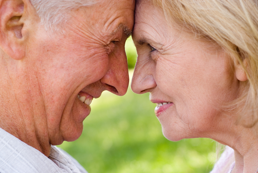 positive older coouple